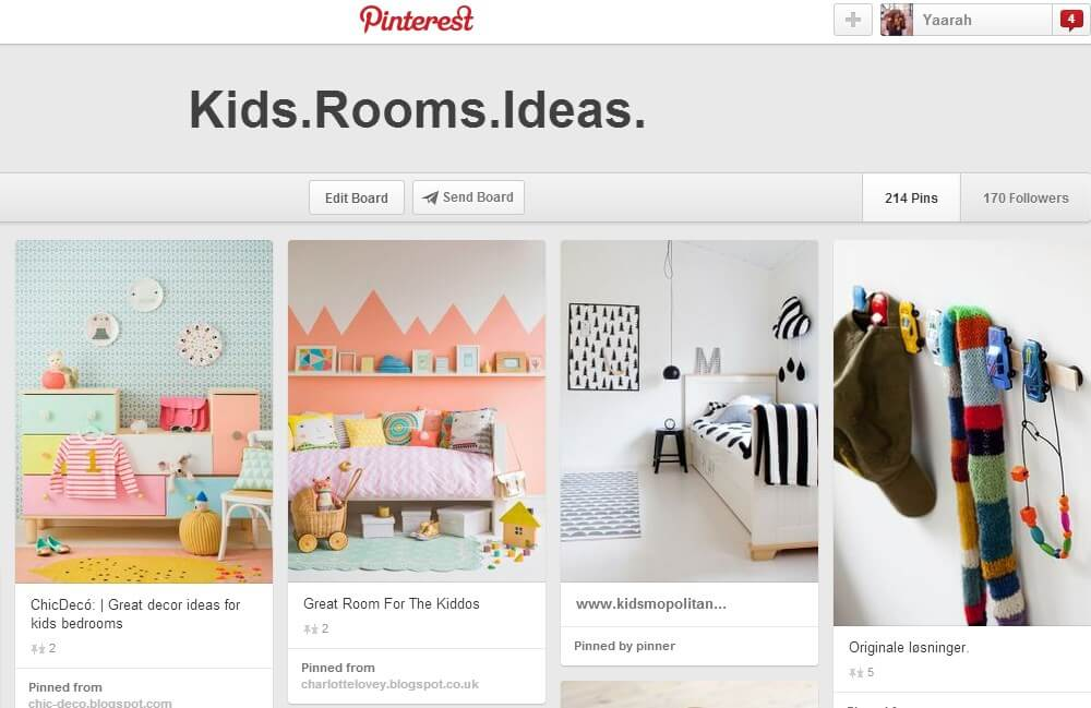 Kids.Rooms.Pinterest