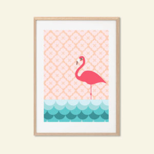 Print.Flamingo